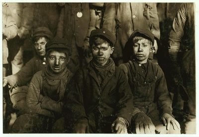 Breaker boys pennsylvania 1911 welfare child