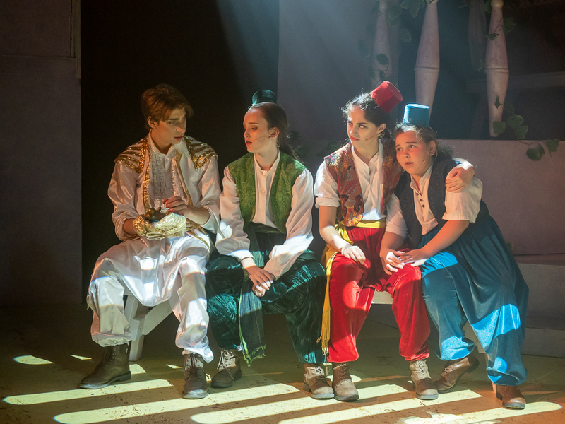 Aladdin Jnr by Fab Nobs Theatre Inc in Bayswater