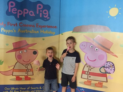 Boys at Peppa