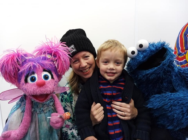 The Cookie Monster and Abby Cadabby in Melbourne to Celebrate Sesame Street's 48th Season