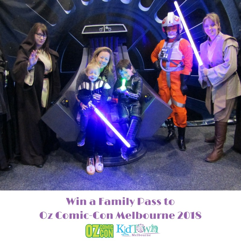 Oz Comic-Con Melbourne 2018 TICKET GIVEAWAY