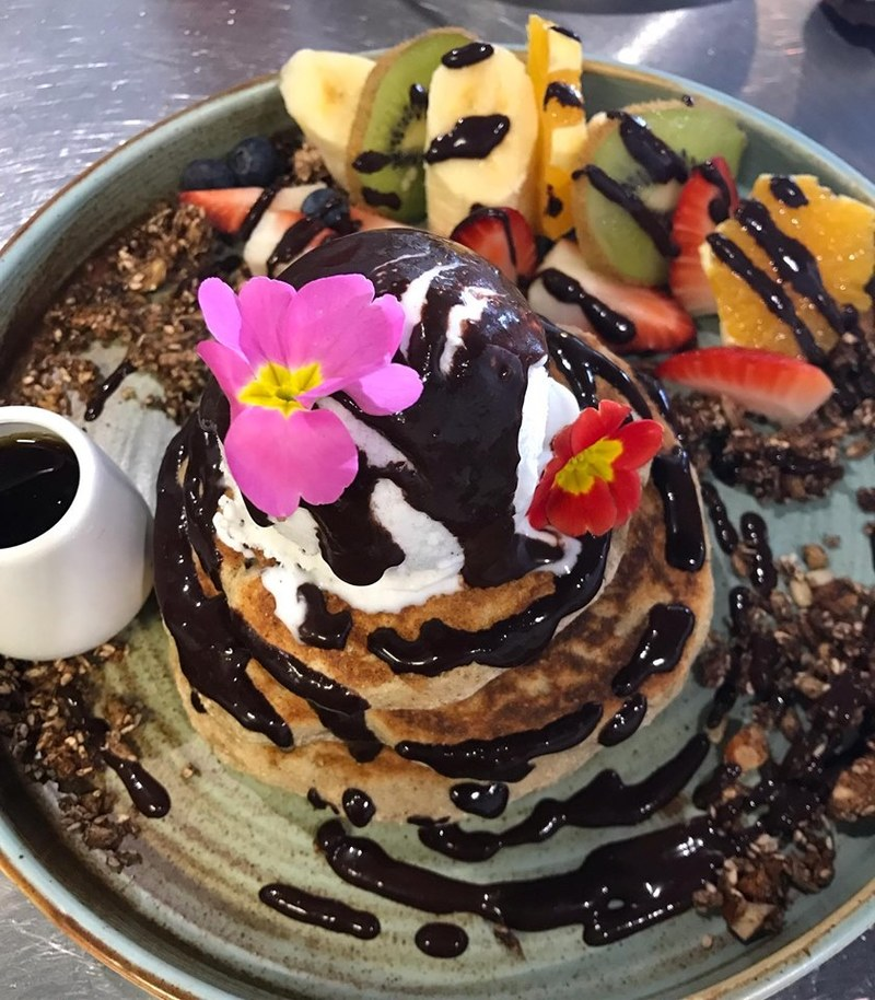 Credit LM Pancakes  - Love Madre: Love yourself. Be Wholesome and Healthy.