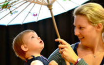 Easter fun day at ripponlea estate kidtown melbourne dancing rhymes movement singing for babies under 2s negle Images