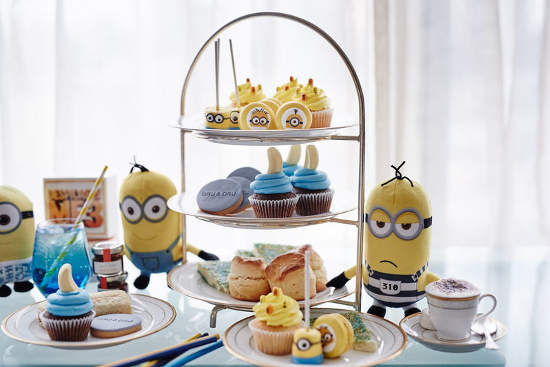 Despicable Me 3 High Tea at The Langham