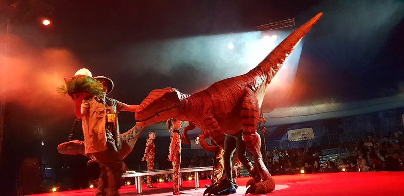 Car dinosaurs  - Review: Jurassic Unearthed by Silver Circus in Mornington