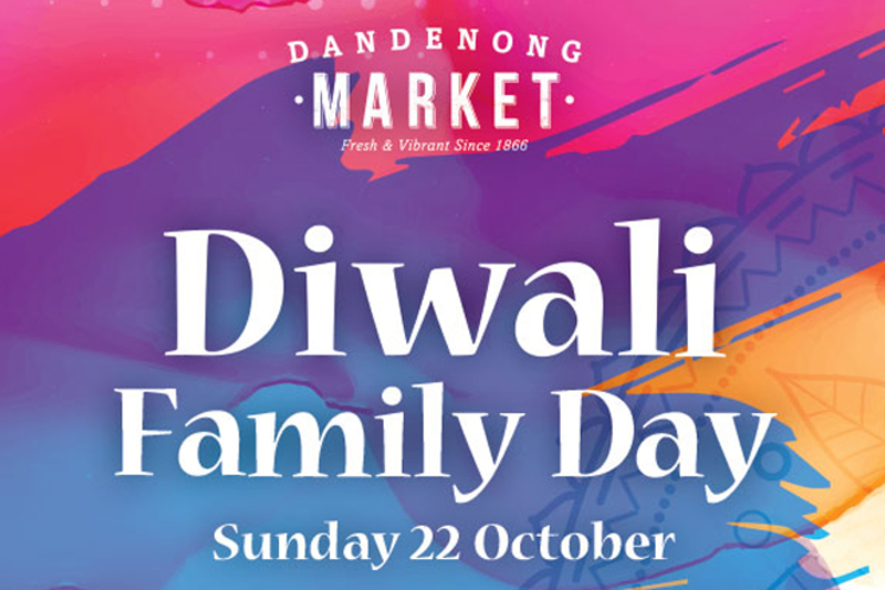 Diwali Family Day at Dandenong Market