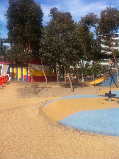 docklands park, kids activities in melbourne