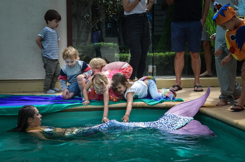 A Party With A Real Mermaid