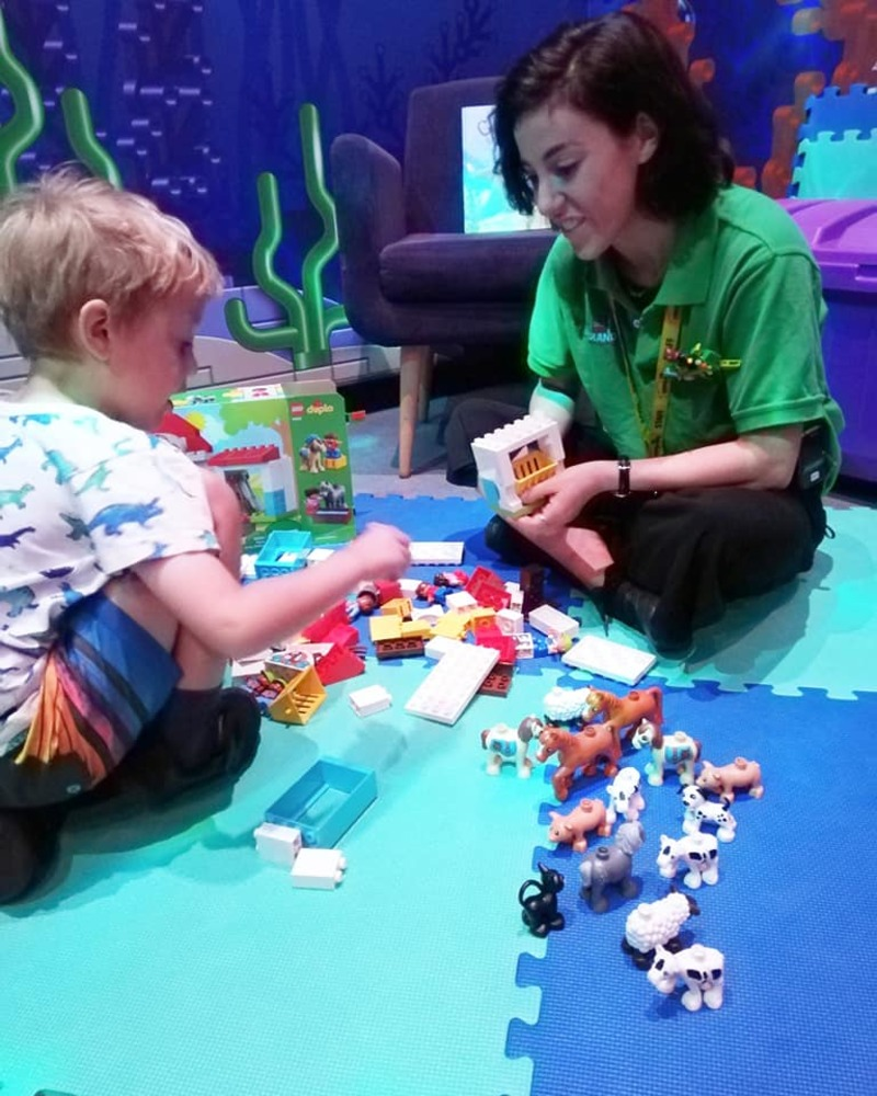 DUPLO Kids' Club at LEGOLAND for 2 - 5 year olds