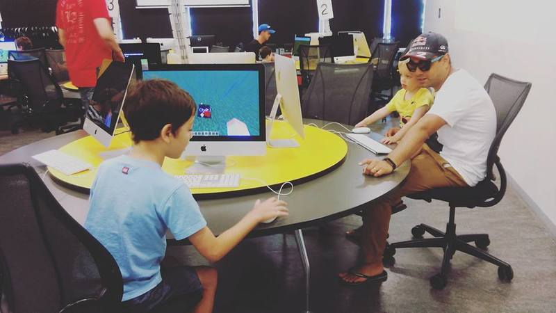 Family Minecraft Days at the Australian Centre for the Moving Image (ACMI)