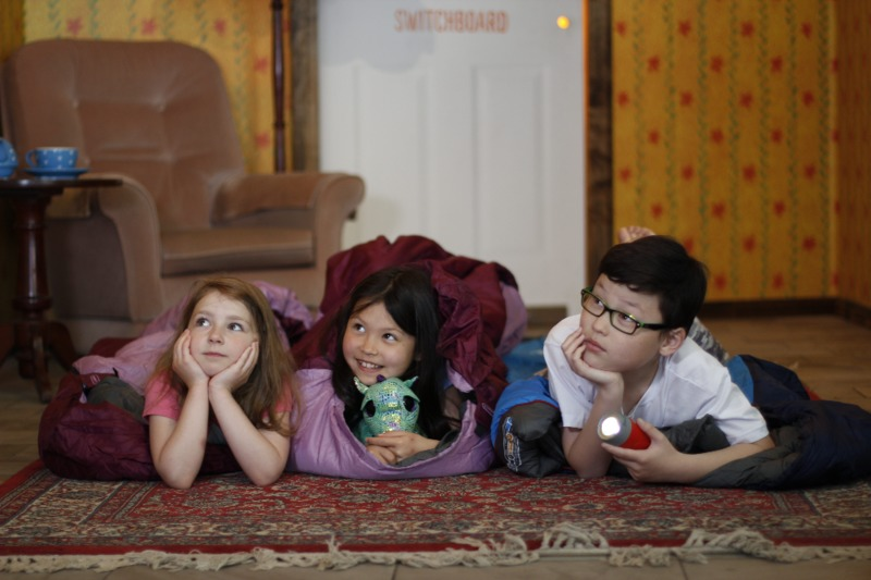 Family Sleepover: Grand Night In
