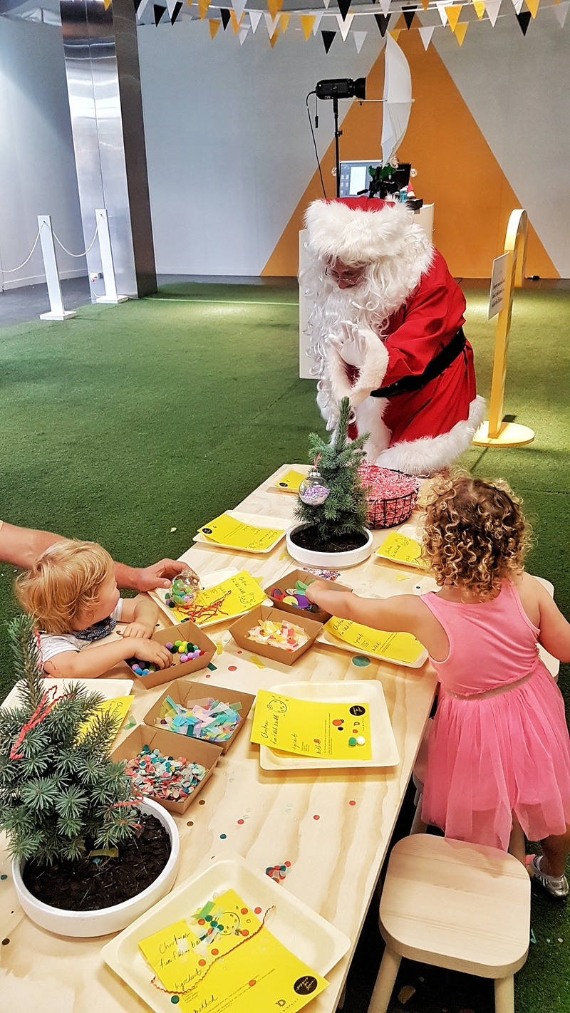 Free Christmas Activities and Santa at District Docklands