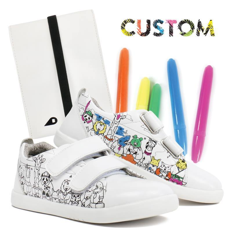 Giveaway: A Pair Of Limited Edition Bobux Custom Shoes