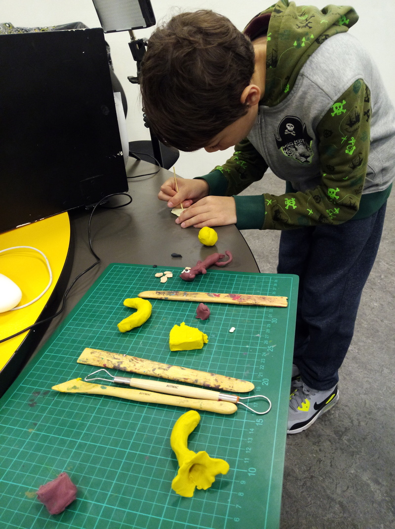 Family & Friends Claymation Workshop at ACMI