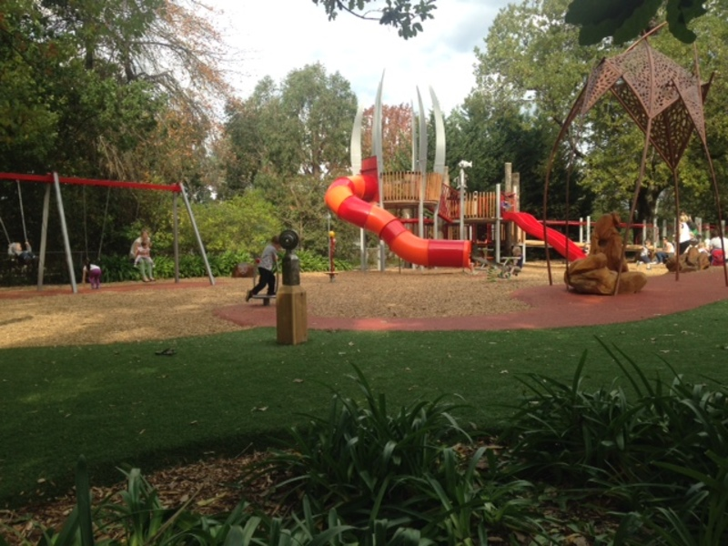 New Playground Opens at Conservatory Café in Croydon