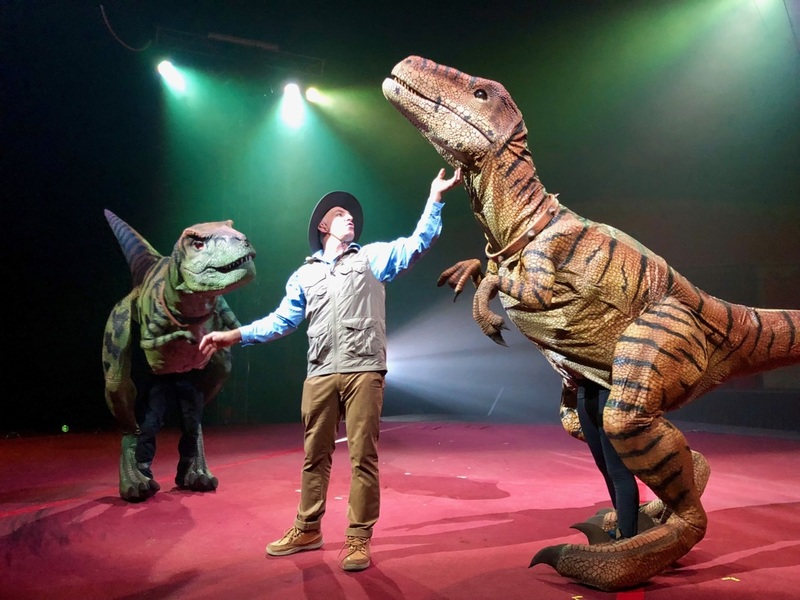 Jurassic Unearthed by Silvers Circus at Bata Show Grounds, Mornington