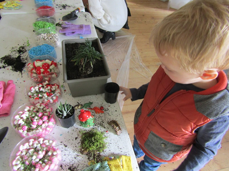 Dinosaur and Fairy Garden Workshops with Blossom Kids