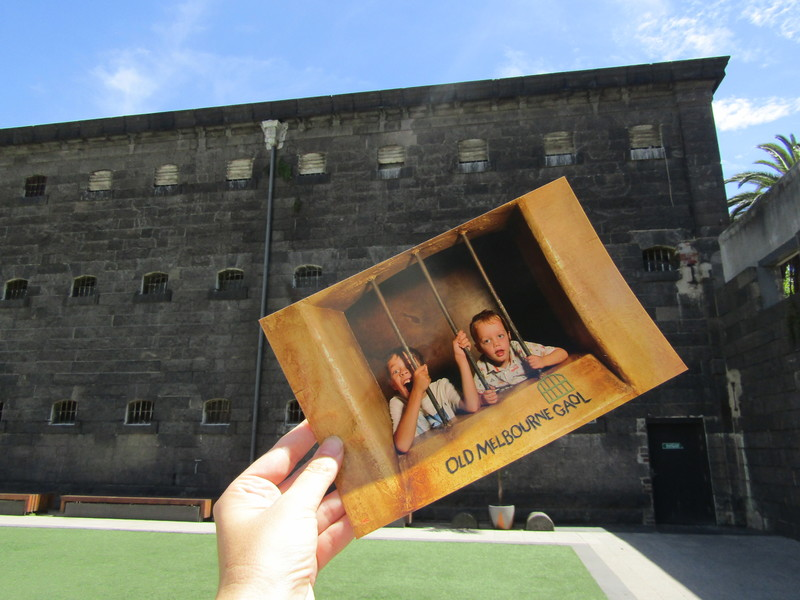 Escape the Melbourne Gaol in School Holidays