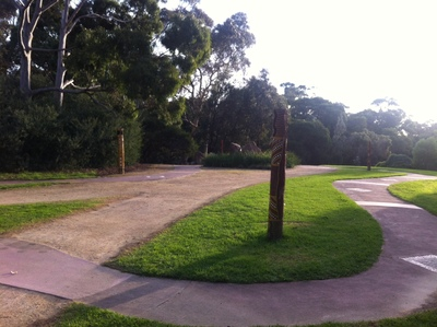 Frankston Botanic Gardens path