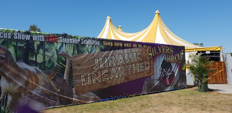 Review: Jurassic Unearthed by Silver Circus in Mornington