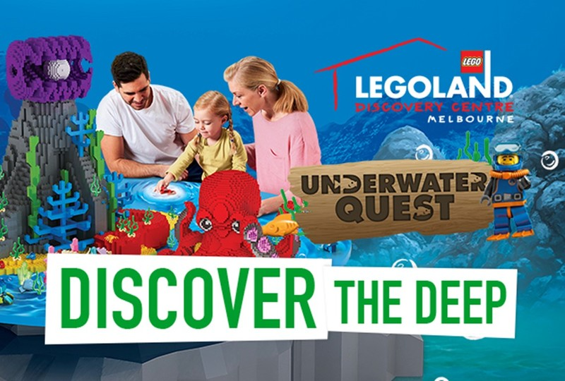 Underwater Quest at LEGOLAND® Discovery Centre Melbourne