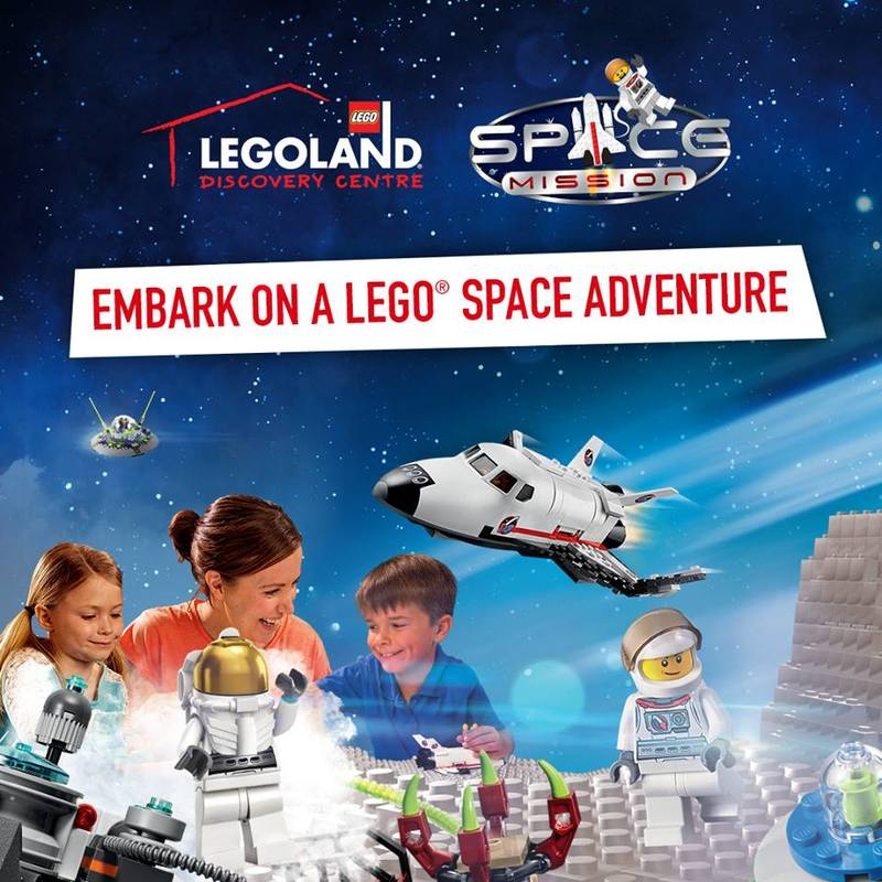 Embark on a Space Mission at LEGOLAND Discovery Centre Melbourne