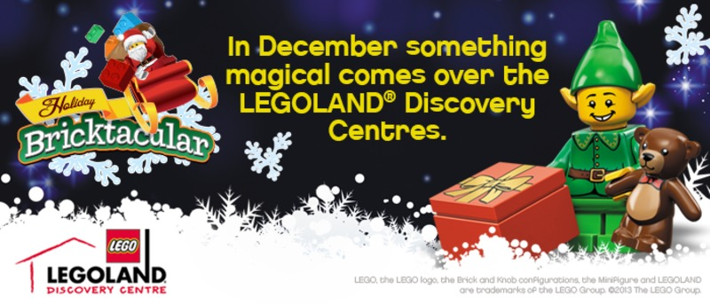 Christmas Bricktacular at LEGOLAND Discovery Centre Melbourne