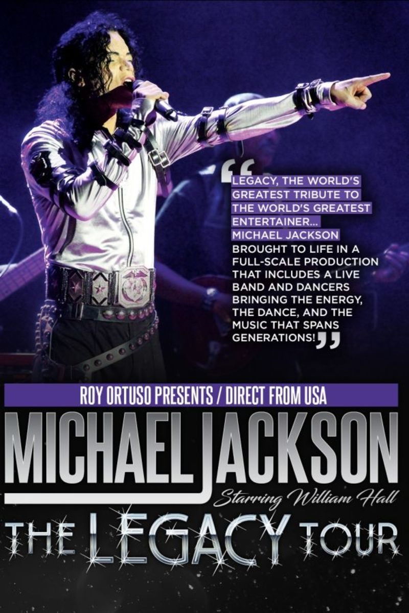 Michael Jackson - The Legacy Tour in Melbourne