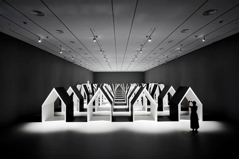 Escher x nendo: Between Two Worlds at the National Gallery of Victoria