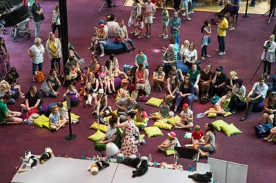 ngv kids summer festival free fun in the holidays