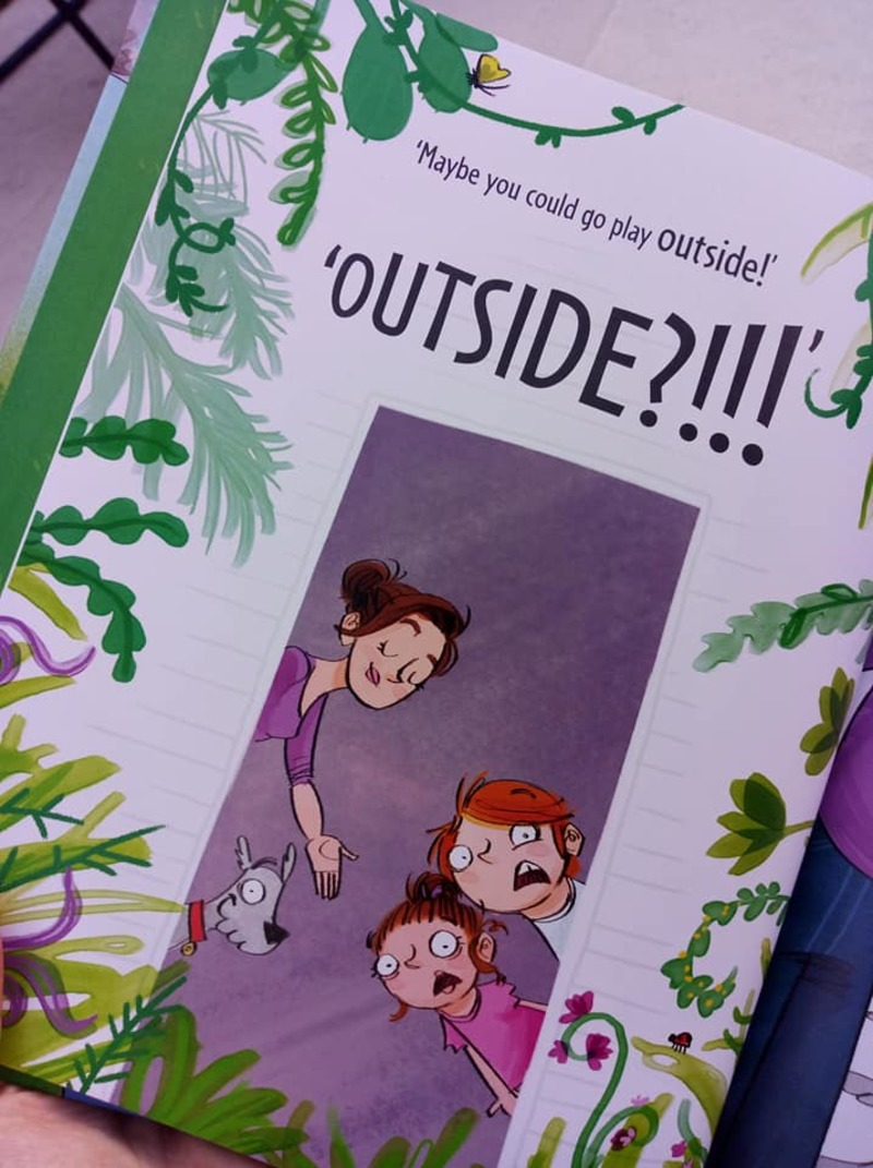 Nothing New Outside Book Giveaway