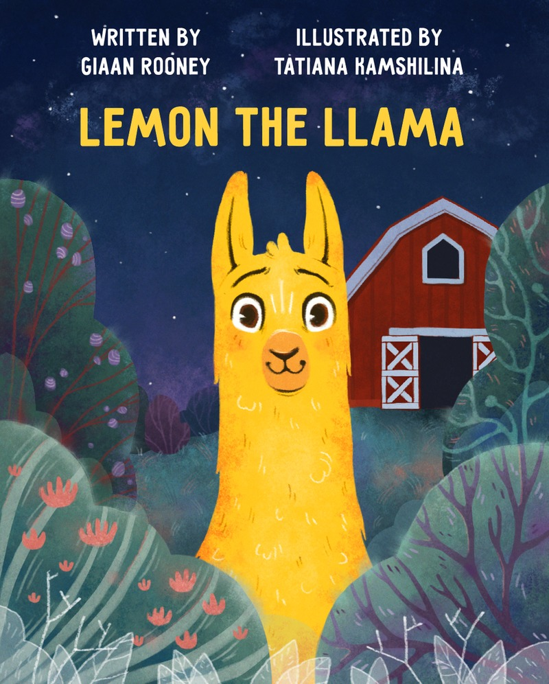 BOOK REVIEW: Lemon the Llama by Giaan Rooney