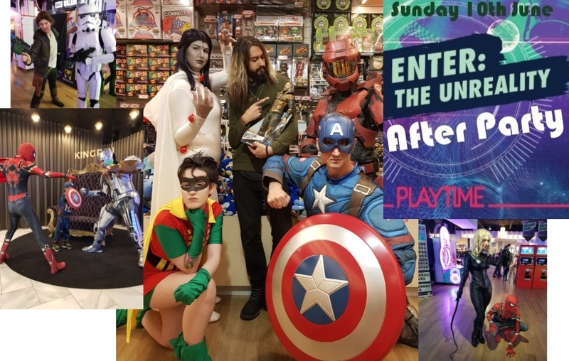 Family Friendly Oz Comic-Con After Party at Playtime