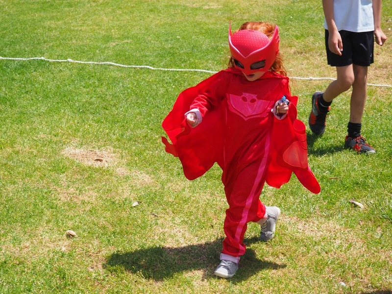 Thrilling Superhero Party with Waggle Dance