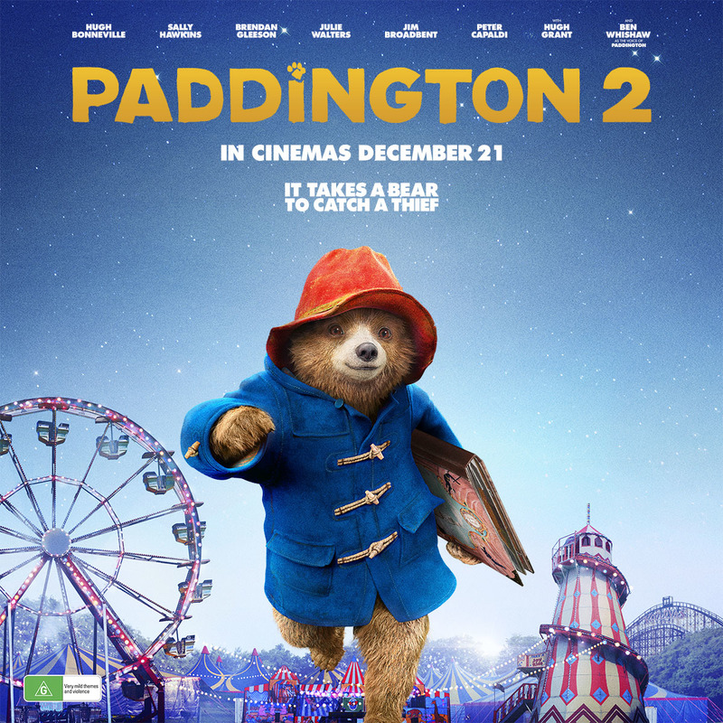 Paddington 2 Movie Tickets and Prize Pack Giveaway