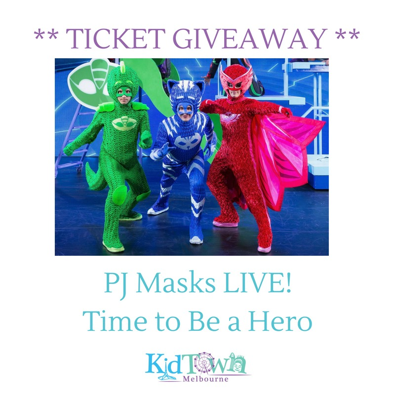 TICKET GIVEAWAY: PJ Masks LIVE! Time to Be a Hero