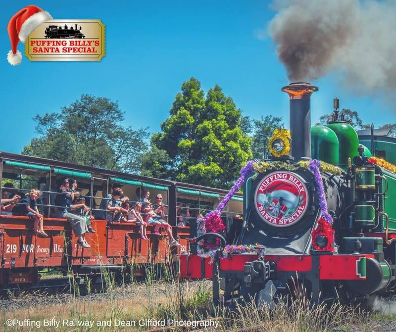 Santa Special Puffing Billy Family Pass Giveaway