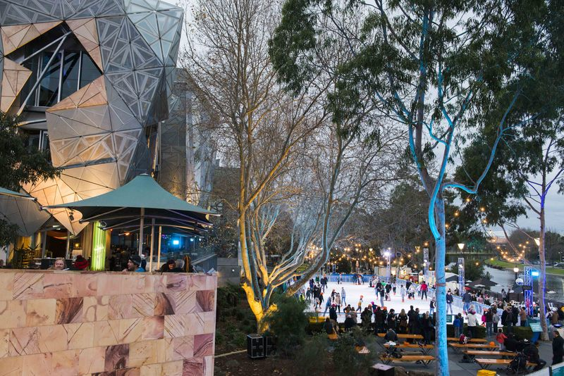 River Rink in Fed Square 2017