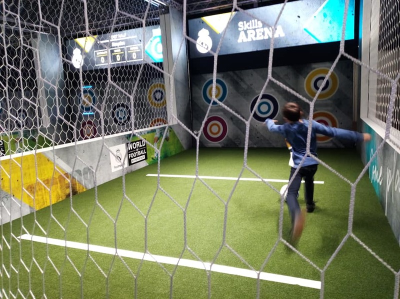 The Real Madrid World of Football Experience at Melbourne Museum