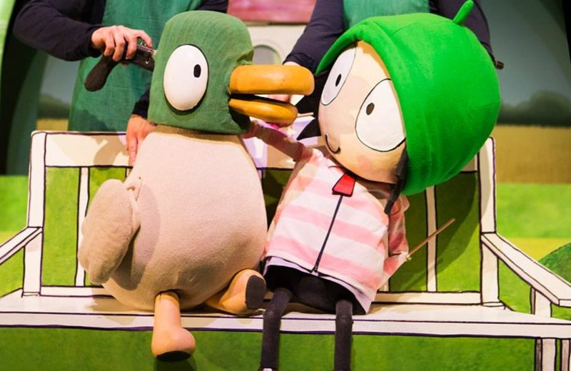 Sarah & Duck's Big Top Birthday Tour