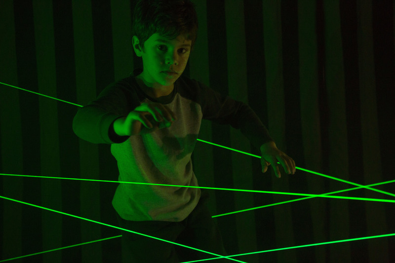 Amazing Laser Maze and Forest in Scienceworks Pumping Station