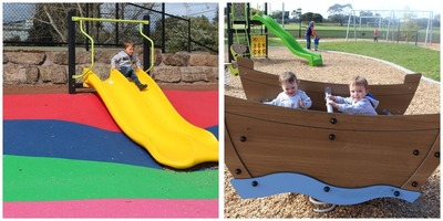 Seaford North Reserve Playground Redeveloped Montage