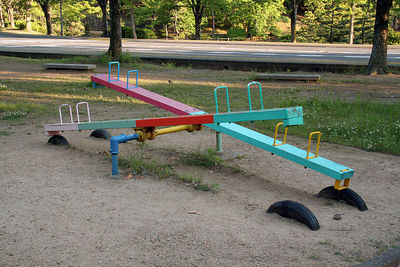 see saw playground
