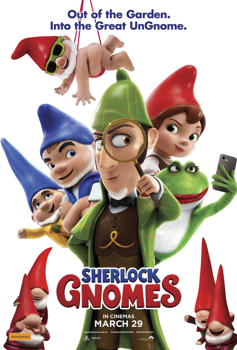 SHERLOCK GNOMES Prize Pack Giveaway