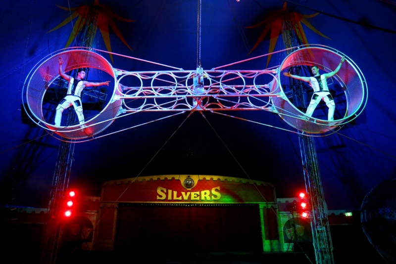 Silvers Circus at Dingley Village