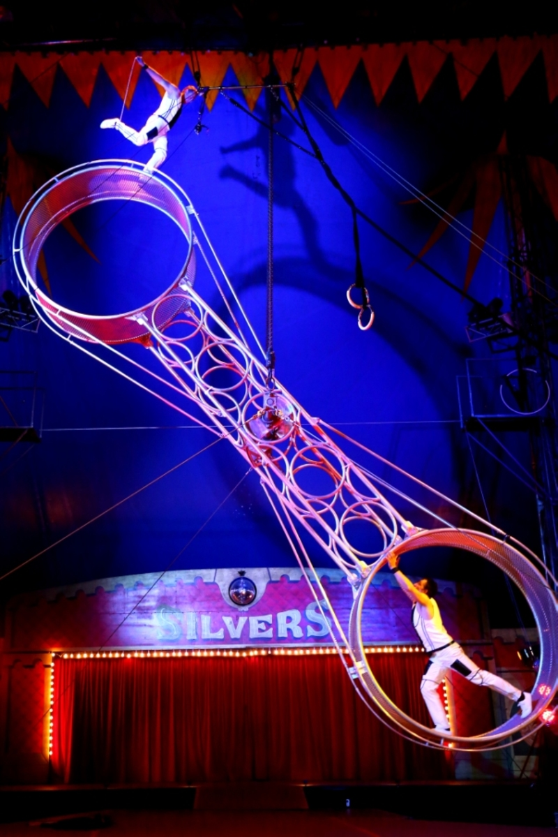 Silvers Circus Perform at Westfield Southland in the July School Holidays
