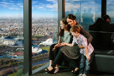 Skydeck Mum and Kids