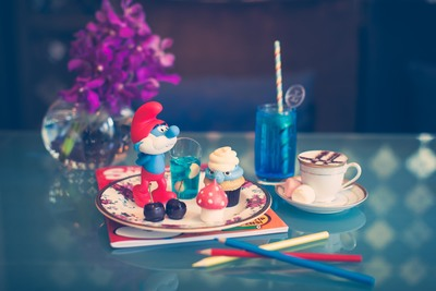 smurfs high tea experience