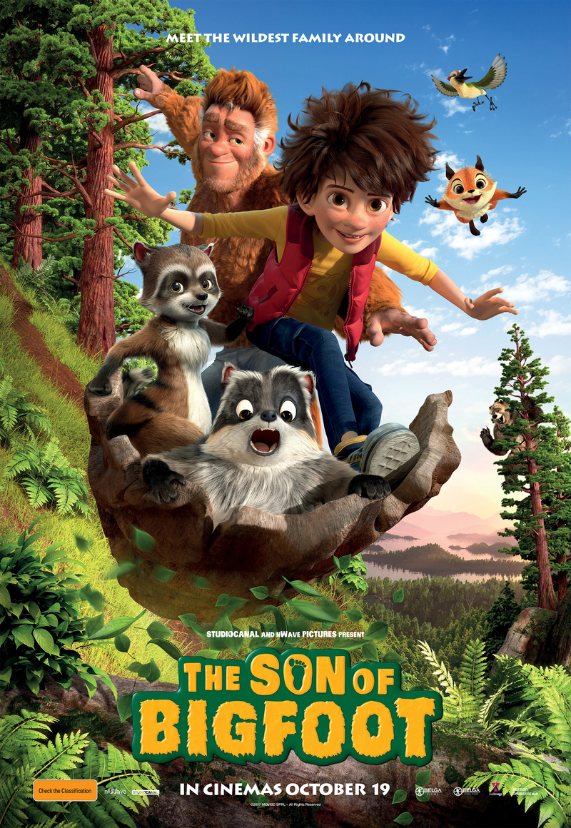 The Son of Bigfoot Family Film Prize Pack
