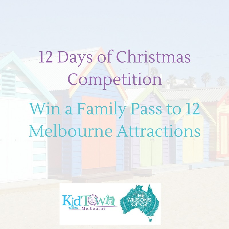 12 Days of Christmas Competition: Win a Family Pass to 12 Melbourne Attractions
